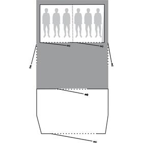 Outwell Clarkston 6A Footprint